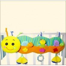 BIBA TOYS Развивающая игрушка подвесная на кроватку УЛИТКА 32*32,5*35 см GD018