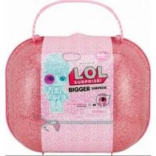 LOL Bigger Surprise - ЛОЛ Биггер сюрприз большой розовый чемоданчик 553007