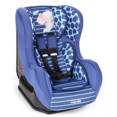 NANIA DRIVER Автокресло 0-18кг ANIMALS ELEPHANT ENERGY синий