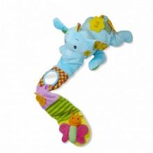 BIBA TOYS Развивающая игрушка СЛОН ЭЛЛИ, розовый 60*16 см  MC374AS