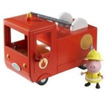 """Игровой набор """"Пожарная машина Пеппы"""" с фигуркой Пеппы"""