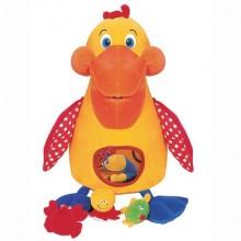 Голодный пеликан с игрушками k's kids