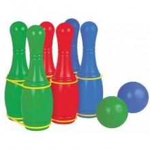 Детский боулинг набор 6 кегель, 2 шара