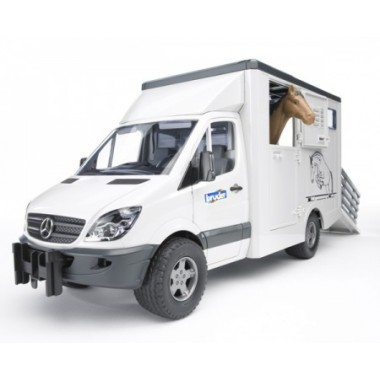 Mercedes-Benz Sprinter фургон с лошадью Bruder 02-533