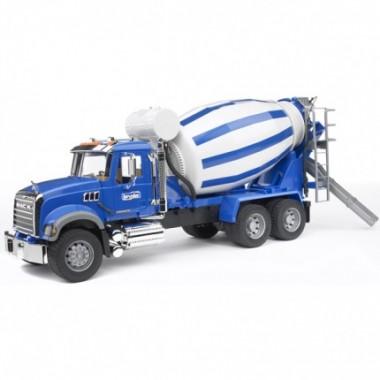 Игрушка Bruder 02-814 Бетономешалка N MACK Granite Truck