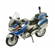 Игрушка модель мотоцикла BMW R1200RT полиция