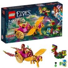 Конструктор Лего Lego Elves Побег Азари из леса гоблинов 41186