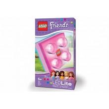 Фонарик-ночник LEGO Friends со сменным элементом