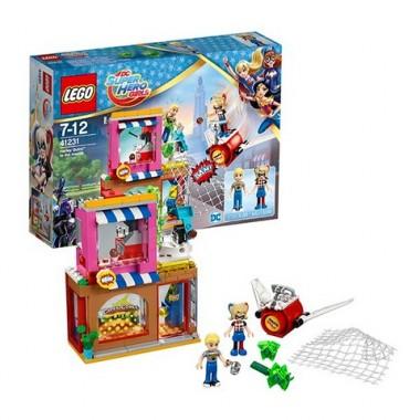 Конструктор Лего Lego Super Hero Girls Супергёрлз Харли Квинн спешит на помощь