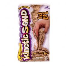 Игровой набор для творчества Кинетик сэнд Кинетический песок для лепки 910 грамм, коричневый