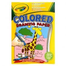 Бумага цветная для рисования, в наборе 40 листов разных цветов
