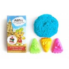 ЛЕПА трогательный кинетический голубой песок + формочки Пирожные