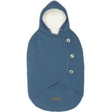 Mammie Конверт-кокон для новорожденного синий Зима
