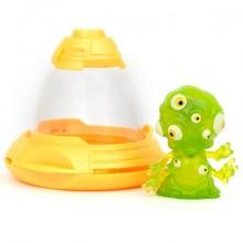 Фигурка инопланетянин Exogini с летающей тарелкой Гургл