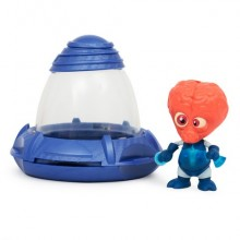 Фигурка инопланетянин Exogini с летающей тарелкой Ультрамайнд