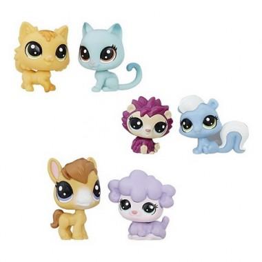 Hasbro Littlest Pet Shop Зверюшка 2 пета (в ассортименте)