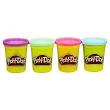 Play-Doh Набор пластилина из 4 баночек в ассортименте B5517