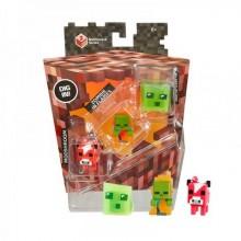Набор минифигурок Minecraft Mooshroom Zombie in Flames