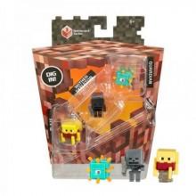 Набор минифигурок Minecraft Blaze Wither Skeleton Guardian