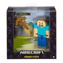 Mega Bloks фигурки базовых героев Minecraft, Стив
