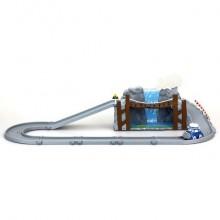 Игровой набор Обрушающийся мост с металлической машинкой Масти
