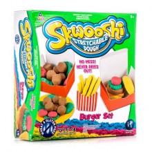 """Skwooshi набор """"Бургер"""" масса для лепки и аксессуары"""