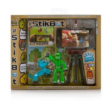 Stikbot (Стикбот) Студия с питомцем