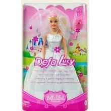 Defa Lucy (29см) прекрасная принцесса в свадебном платье