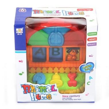 JIA LE TOYS Развивающая игрушка КТО В ДОМИКЕ ЖИВЕТ?