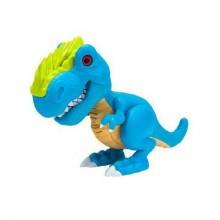 Игрушка Junior Megasaur Динозавр, звук, голубой, свет, звук эфф-ты