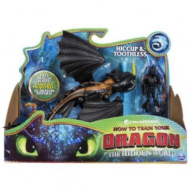 Dragons 66621Th Дрэгонс Игровой набор дракон и фигурка Виккинга, Беззубик