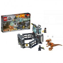 Lego Jurassic World 75927 Конструктор Лего Мир Юрского Периода Побег стигимолоха из лаборатории