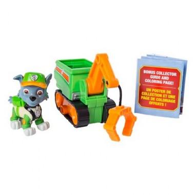 Paw Patrol 16721 Щенячий патруль мини-машинка спасателя с фигуркой героя