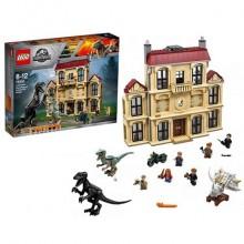LEGO Jurassic World Нападение индораптора в поместье 75930