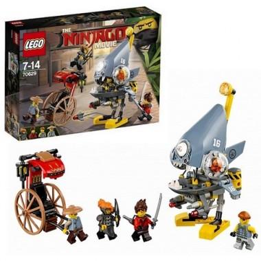 Lego Ninjago Нападение пираньи 70629
