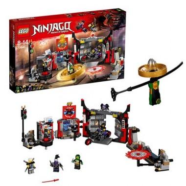 Lego Ninjago Штаб-квартира Сынов Гармадона 70640