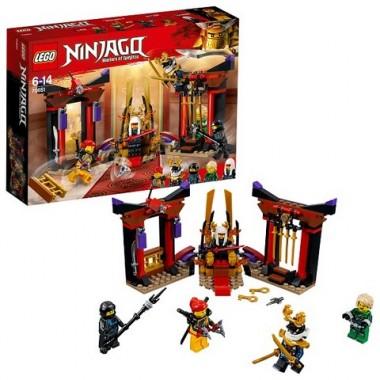 Lego Ninjago Решающий Бой в Тронном Зале 70651