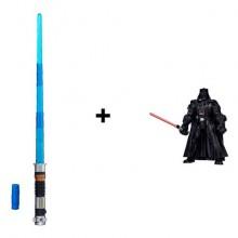 Набор Hasbro Звездные войны световой меч B2919 + фигурка