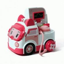 Машинка Robocar Poli Эмбер с аксессуарами 83393