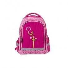 Рюкзак школьный с пикси-дотами (розовый) MC-3191-4