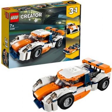 Конструктор Лего Криэйтор  LEGO Creator Оранжевый гоночный автомобиль
