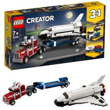 LEGO Creator Транспортировщик шаттлов
