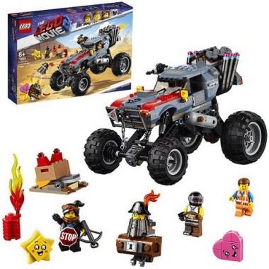 Конструктор Лего LEGO Movie 2: Побег Эммета и Дикарки на багги
