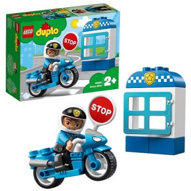 Lego Duplo Полицейский мотоцикл