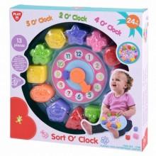 Для самых маленьких ПлейГо PlayGo 1748 Веселые часы сортер