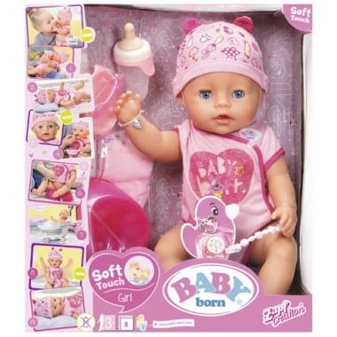 Бэби Борн Кукла Интерактивная, 43 см Zapf Creation  Baby born 825-938