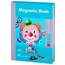 """Magnetic Book TAV033 Развивающая игра """"Гримёрка веселья"""", 79 деталей"""