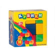 Набор из 18 кубиков