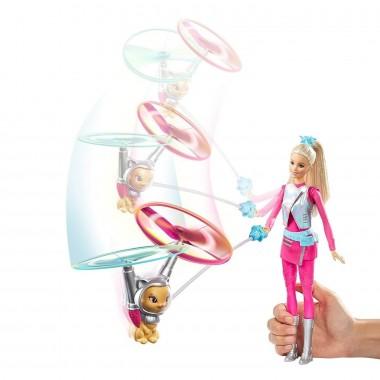 Барби с летающим питомцем Космическое приключение Barbie DWD24