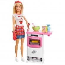 Barbie Барби Пекарь-Кондитер FHP57
